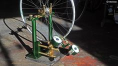 It s hard to believe but there s a good chance this P K Lie Special250 wheel truing stand costs more than your bike