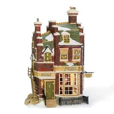 Amazon.com - Department 56 Dickens Village Scrooge/Marley Counting House - Holiday Collectible Buildings