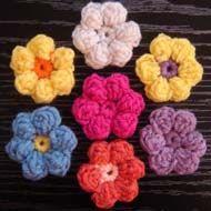 Crochet Flower Patterns from beginner-crochet-patterns.com