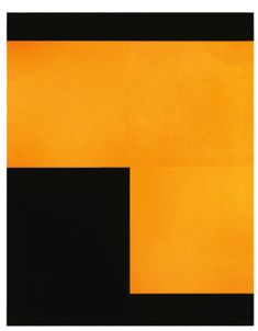 Aurélie Nemours, Les Ongles Noirs, signed and dated 1981 on the reverse, oil on canvas, 92 by 72.5cm; 36 1/4 by 28 1/2 in. | orange black minimalism geometric concrete art
