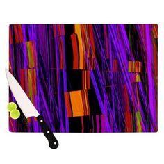 104 by 88-Inch Kess InHouse EBI Emporium California Surf 6 Teal Purple King Cotton Duvet Cover