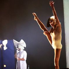 Maddie Ziegler in Chandelier Behind the Scenes | Sia | Pinterest