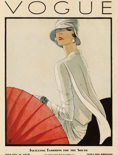 January 1928 British Vogue