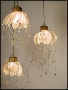Gorgeous Hanging Lamps.