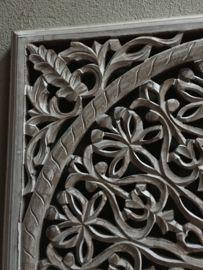 Houten Panelen Wanddecoratie.Stoer Landelijk Oud Houten Wandpaneel Light Grey Grijs