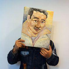 MinGi jung, sewing artist