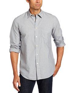 Faconnable Jeans Men's Multi Stripe Button Down « Clothing Impulse