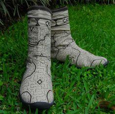Shipibo footwear