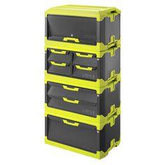 Ryobi Tool Blox Storage Combo - 4 Pc
