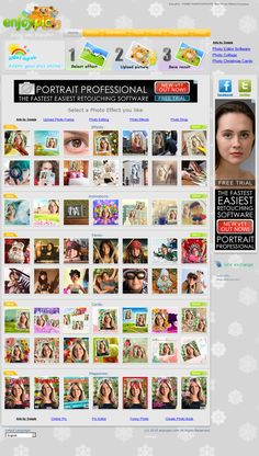 EnjoyPic is an online photo editing tool.Create funny pictures and gif animations online, make photoshop like effects with our online photo editor.