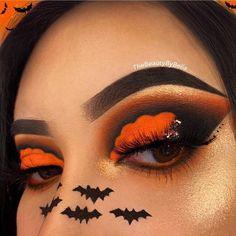 Creative Eye Makeup, Eye Makeup Art, Eyeshadow Makeup, Crazy Eyeshadow, Glow Makeup, Holiday Makeup, Fall Makeup, Summer Makeup, Crazy Makeup