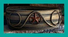 western rope basket ranch decor