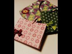 Hacer bolsitas de papel de regalo