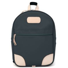 Jon Hart Backpack #907 - Shown in French Blue Coated Canvas