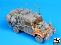 Land Rover Defender Snatch Barracuda - Afghanistan big conversion set