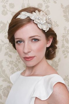1950s wedding headpieces   Emmy ~ Glamorous and Vintage Inspired Bridal Headpieces...