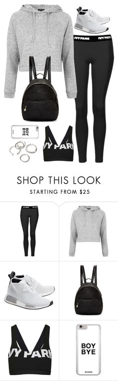"""Untitled#4559"" by fashionnfacts ❤ liked on Polyvore featuring Topshop, adidas Originals, STELLA McCARTNEY and Forever 21"