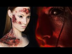 The Lazarus Effect Inspired Makeup Tutorial - YouTube