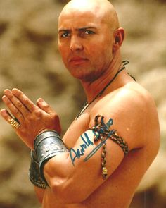 Arnold Vosloo South African actor in films like The Mummy Returns.