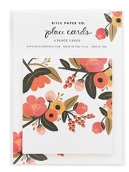 Garden Place Cards designed by Anna Bond for Rifle Paper Co. Available at Northlight Homestore Party Places, Rifle Paper Co, Papers Co, Anniversary Parties, Love Gifts, Custom Invitations, Invites, Paper Goods, Thoughtful Gifts