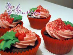 """""""Christmas"""" cupcakes"""