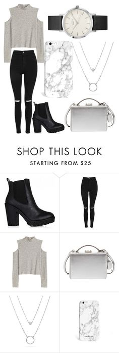 """Untitled #165"" by victoria1221 ❤ liked on Polyvore featuring Topshop, H&M and Mark Cross"