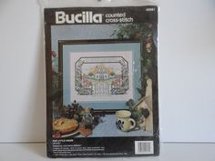 Bucilla Counted Cross Stitch Kit  Our Little by SecondWindShop