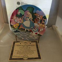 Disney's Alice in Wonderland collectors plate