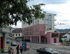 Knapkiewicz & Fickert | Bauten. Rigiplatz. Wohnüberbauung Rigiplatz  Winterthurer-Universitätsstrasse Oberstrass, Zürich  Wettbewerb 1997/ Baubeginn 2008 / Bezug Juni 2010