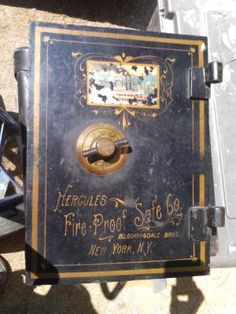 ANTIQUE HERCULES SAFE