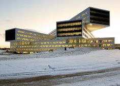 Statoil regional and international offices by A-Lab - http://architectism.com/statoil-regional-and-international-offices-by-a-lab/ -