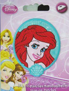 Applicazione termoadesiva Principessa Ariel : (Grottaglie)