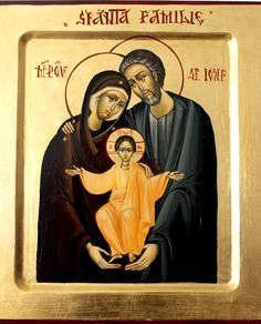 Holy Family by Nica Lucia of Romania