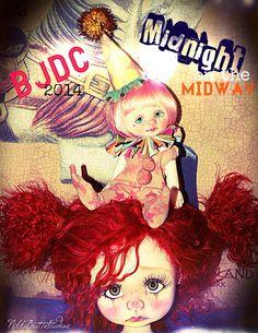 https://flic.kr/p/ovfsvR   Nikki Britt's BJDC 2014 poster   BJDC held in Austin, Texas July 31 through August 2.