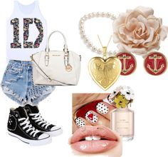 """""""1D concert"""" by louistscarrot ❤ liked on Polyvore"""