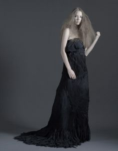 2008 International Design Award  Bonkuk Koo - Fashion Institute of Technology   Deep Black Sea 1st Place Haute Couture