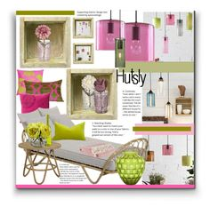 """""""Hutsly"""" by marionmeyer on Polyvore featuring interior, interiors, interior design, home, home decor, interior decorating, Clarissa Hulse, Orientalist Home, PBteen and Besa Lighting"""