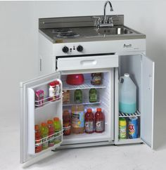 Compact Kitchen Appliances - Elegant Compact Kitchen Appliances , Plete Pact Kitchen with Refrigerator for Small Places Kitchenette, Mini Kitchen, Tiny Spaces, Kitchen Design, Tiny Kitchen, Outdoor Kitchen, Tiny House Living, Compact Kitchen, Home Decor