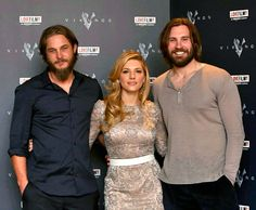 The Vikings.. THE THREESOME THAT THE SHOW IS BASED AROUND!!!! BY THE WAY LOVE THE SHOW!!!