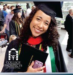College prospects of America quiere felicitar a Stephanie Jocelyn Perez quien se graduó en Mayo 2015 de Indiana Tech University con MENCIÓN HONORIFICA. Asimismo condujo el discurso de generación, el cual se puede apreciar en el siguiente link. https://www.youtube.com/watch?v=cX7A5XNn6GE Si también quieres lograr la oportunidad de estudiar y competir en una universidad de los Estados Unidos completa tus datos http://www.becasdeportivas.com/contacto o visitanos www.cpoala.com…