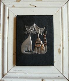 Rosina cats in Pewter