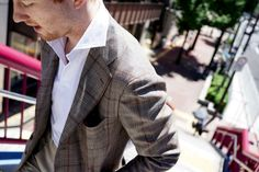 Armoury special Ring Jacket & Polo on Jake Preppy Men, Preppy Style, Tweed Men, Casual Wear, Work Wear, Gentleman, Dress Up, Mens Fashion, Blazer
