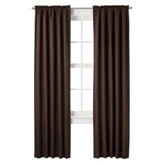 Room Essentials� Thermal Light Blocking Curtain Panel Pair