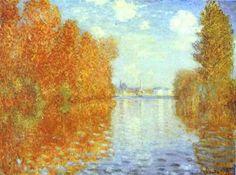 Otoño en Argenteuil (1873), Claude Monet