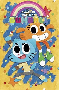 The Amazing World of Gumball is in comic shops Wednesday, June I'm doing the A covers for BOOM! The Amazing World of Gumball Cartoon Shows, Cartoon Art, Steven Universe, Amazing Gumball, Comic News, World Of Gumball, Old Cartoons, Fanart, Blue Cats