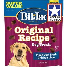 (6 Pack) Bil Jac Liver Dog Treats, 20 Ounces each *** More info could be found at the image url.