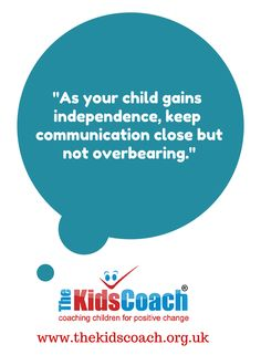 Don't crowd your children - give them room to grow  #parentingtips