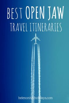 9 of the best open jaw and multi destination travel itineraries, as recommended by travel bloggers, including Osaka and Kyoto to Tokyo, Rome to Naples and the Amalfi Coast, Copenhagen to Stockholm and Budapest to Prague via Bratislava and Vienna. Make the