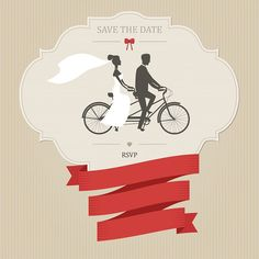 Find Vintage Wedding Invitation Tandem Bicycle Place stock images in HD and millions of other royalty-free stock photos, illustrations and vectors in the Shutterstock collection. Thousands of new, high-quality pictures added every day. Bicycle Holiday, Tandem Bicycle, Funny Wedding Invitations, Bike Illustration, Vintage Wedding Photos, Groom Poses, Wedding Background, Wedding Save The Dates, Creative Photos