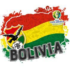 Bolivia, World Football, Fifa, America, America's Cup, Soccer, Brazil, Flags, Sheet Metal